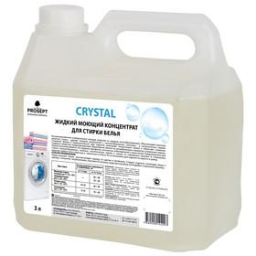 Жидкий моющий концентрат Crystal для стирки белья, 3 л Ош