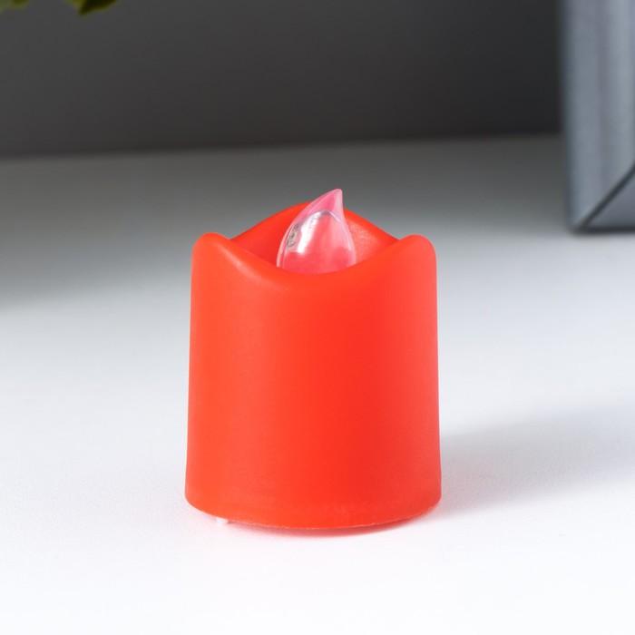 Ночник Свеча LED МИКС 4х3,5х3,5 см