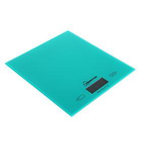 Весы кухонные HOMESTAR HS-3006, электронные, до 5 кг, зелёные
