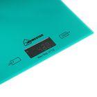 Весы кухонные HOMESTAR HS-3006, электронные, до 5 кг, зелёные - Фото 2