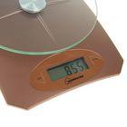Весы кухонные HOMESTAR HS-3002, электронные, до 5 кг, коричневые - Фото 2