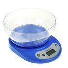 Весы кухонные электронные HOMESTAR HS-3001, до 5 кг, автоотключение, голубые