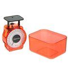 Весы кухонные HOMESTAR HS-3004М, механические, до 1 кг, чаша 0.5 л, красные - Фото 3