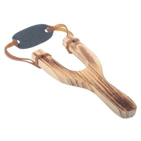 Рогатка деревянная с обмоткой Ош