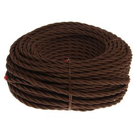 Провод Bironi, 3*1 ,5, витой, коричневый 1шт-50м
