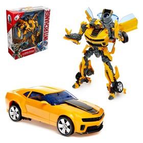 Робот «Автобот», трансформируется, световые и звуковые эффекты, с оружием и аксессуарами