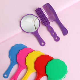 Набор парикмахерский, 3 предмета, цвет МИКС Ош
