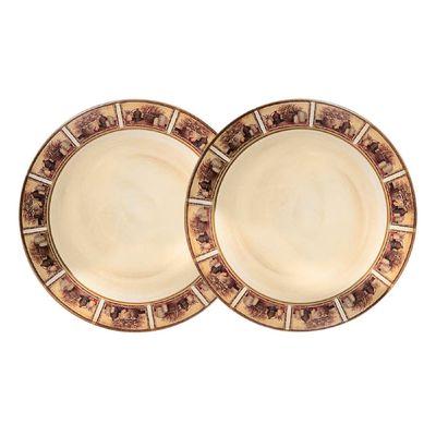 Набор из десертных тарелок «Натюрморт», 2 предмета, 20,5 см - Фото 1