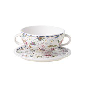 """Суповая чашка на блюдце """"Букингем"""", 0,5 л"""