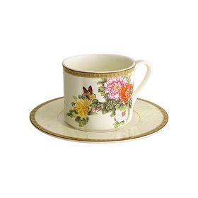 """Чашка с блюдцем """"Японский сад"""""""