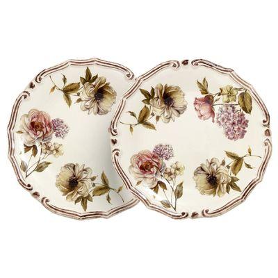 Набор из десертных тарелок «Сады Флоренции», 2 предмета, 20,5 см - Фото 1