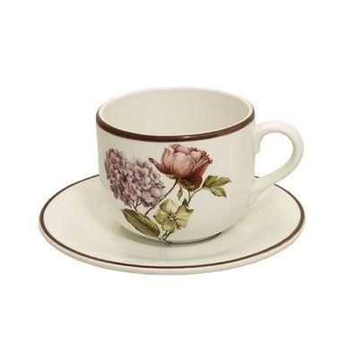 Чашка «Сады Флоренции» с блюдцем, 500 мл - Фото 1