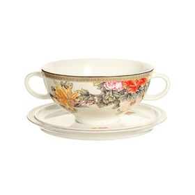 "Суповая чашка на блюдце ""Японский сад"", 0,5 л"