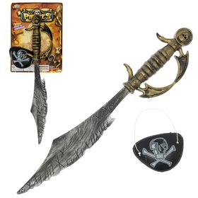 Игровой набор «Пират»: сабля, повязка Ош