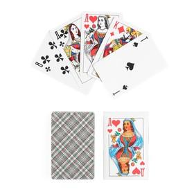 Карты игральные бумажные 'Дама', 36 шт, 8.8х5.7 см Ош