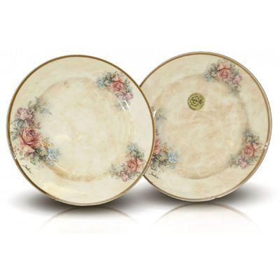 Набор из десертных тарелок «Элианто», 2 предмета, 20.5 см - Фото 1