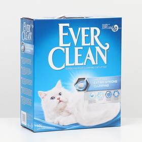 Наполнитель комкующийся Ever Clean Extra Strong Clumping  Unscented, без ароматизатора, 10л