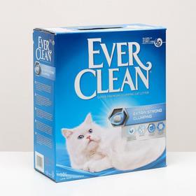 Наполнитель комкующийся Ever Clean Extra Strong Clumping Scented с ароматизатором, 10л