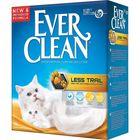 Наполнитель комкующийся Ever Clean Less Trail для котят и длинношерстных кошек, 6 л