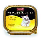 Влажный корм Animonda VOM FEINSTEN KITTEN для котят, с мясом птицы, ламистер, 100 г