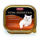 Влажный корм Animonda VOM FEINSTEN ADULT для кошек, куриная печень, ламистер, 100 г