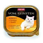 Влажный корм Animonda  VOM FEINSTEN ADULT ADULT для кошек, птица/паста, ламистер, 100 г