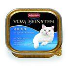 Влажный корм Animonda VOM FEINSTEN ADULT для кошек, лосось/креветки, ламистер, 100 г