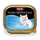 Влажный корм Animonda VOM FEINSTEN для стерилизованных кошек, индейка/форель, ламистер, 100 г 194413