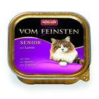 Влажный корм Animonda VOM FEINSTEN SENIOR для кошек 7 +, с ягнёнком, ламистер, 100 г