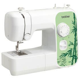 Швейная машина Brother X-8, 70 Вт, 14 операций, полуавтомат, бело-зеленая Ош