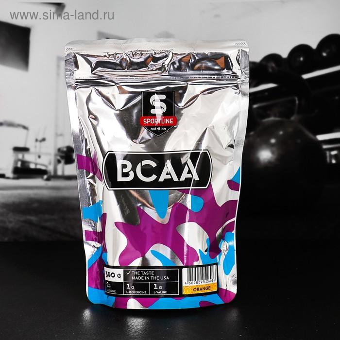Аминокислоты SportLine BCAA 2:1:1, апельсин, 300 г