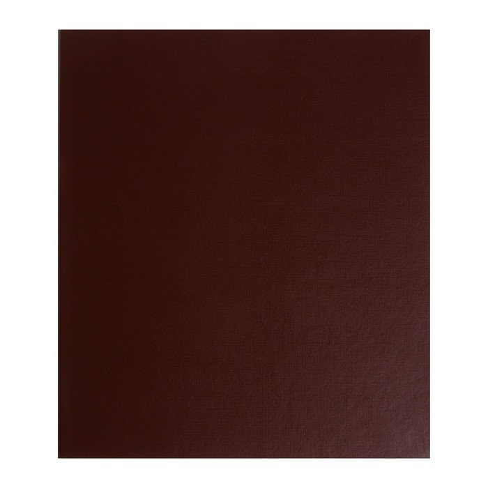 Альбом вертикальный для марок «Стандарт», 230 x 270 мм, (бумвинил, узкий корешок) с комплектом листов 5 штук, МИКС