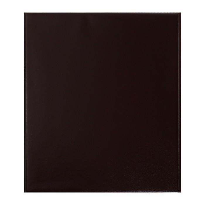 Альбом вертикальный для марок «Коллекция», 230 x 270 мм, (ПВХ) с комплектом листов 5 штук, МИКС