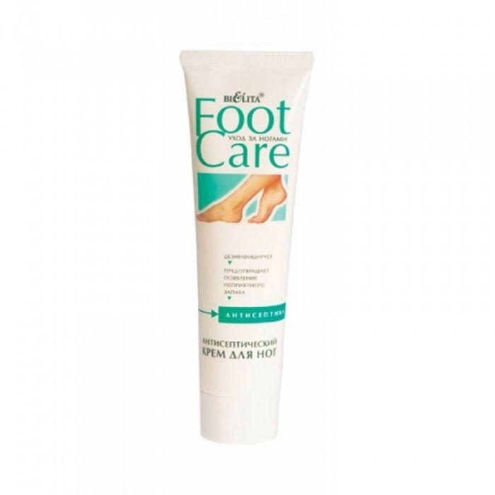 Антисептический крем для ног Bielita foot care, 100 мл