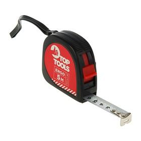 Рулетка Top Tools, 5 м x 16 мм, стальная лента