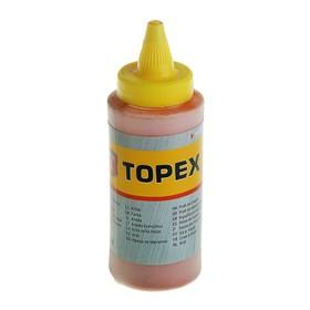 Порошок красящий TOPEX для малярных шнуров, 115 г, красный