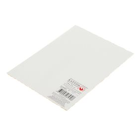 Картон грунтованный 18х24 см, двусторонний (2 мм), акриловый грунт, «Подольские товары для художников» Ош