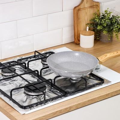 Защитное покрытие для газовых плит, 50×60 см