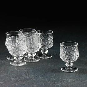 Набор бокалов для коньяка «Застолье», 50 мл, 6 шт, 15×11×7 см