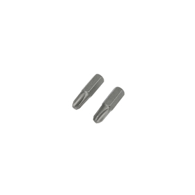 Биты TUNDRA, намагниченные, сталь CrV, PH3 х 25 мм, 2 шт.