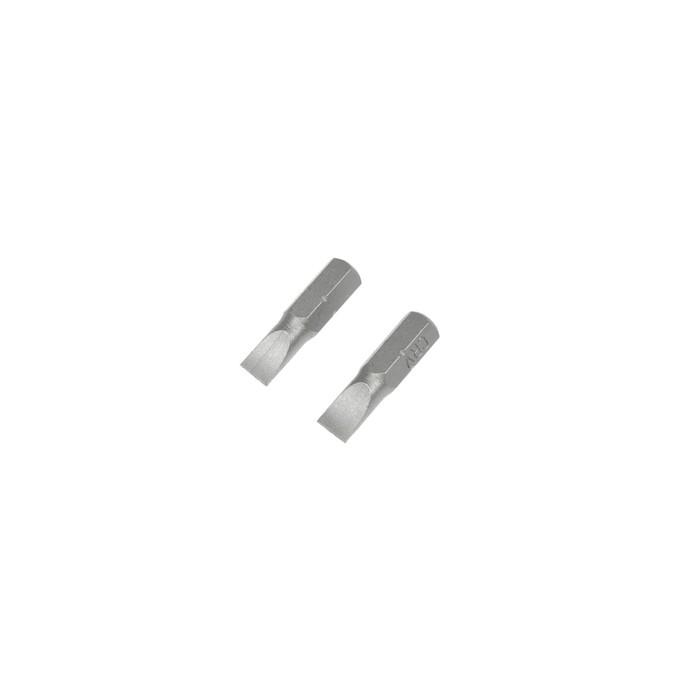 Биты TUNDRA, намагниченные, сталь CrV, SL6 х 25 мм, 2 шт.