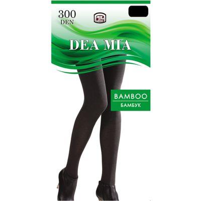Колготки женские DEA MIA BAMBOO 300 ден цвет чёрный, р-р 2