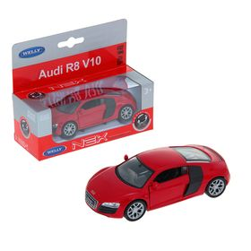 Машина металлическая Audi R8, масштаб 1:34-39, МИКС