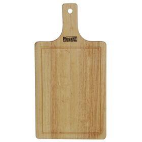 Доска разделочная Bosco, прямоугольная, с деревянной ручкой 40х21х1,2 см