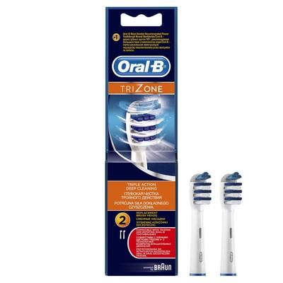 Насадка Oral-B EB30, для зубной щетки Trizone, 2 шт