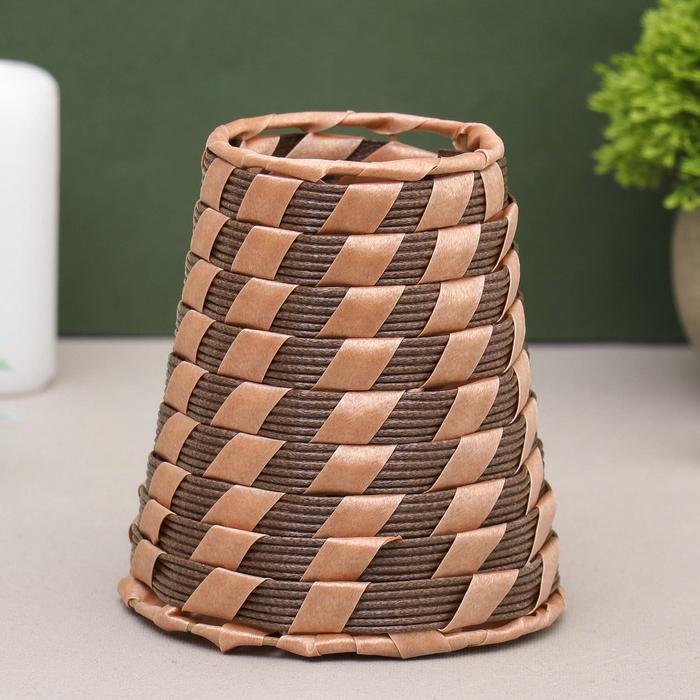 Ваза плетёная Тростниковая 10,511,5 см