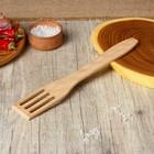 Лопатка кулинарная с отверстиями, 26 ? 5 см, цвет бук