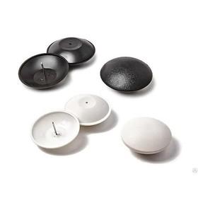 Датчик радиочастотный, 'Ракушка', Designer Micro, d=50мм, цвет белый Ош