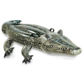 Игрушка для плавания «Аллигатор», 170 х 86 см, от 3 лет, 57551NP INTEX Ош
