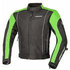 Куртка текстильная Apex, черн.зеленая, 2XL